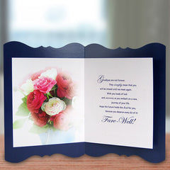 Farewell Note Greeting Card