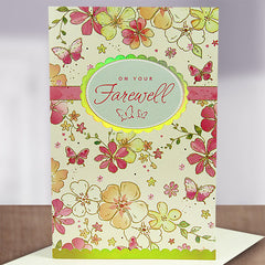 Shop farewell greetings