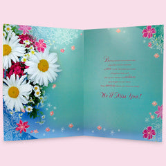 Beautiful Farewell Wishes Jumbo Card
