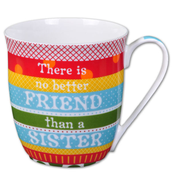 Sister Is A Better Friend Mug