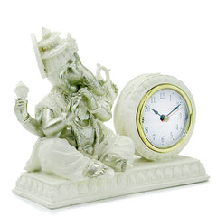 Adorable Ganesha with Desk Clock