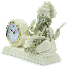 Stylish Lord Ganesha with Desk Clock