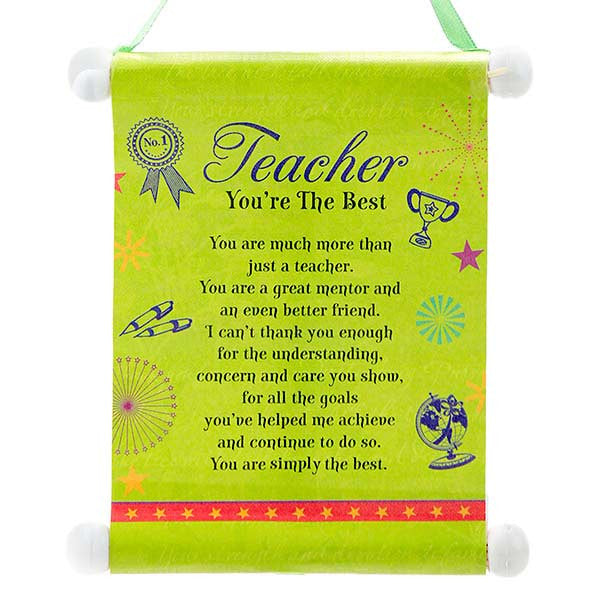 perfect gift for teachers day