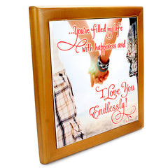 Endless Love Quotation Tile