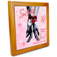 Exclusive Love Quotation Tile