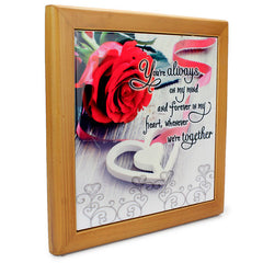 Eminent Love Quotation Tile