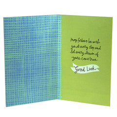 Best Wishes For Good Luck Card