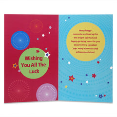 Wonderful Good Luck Greeting Card