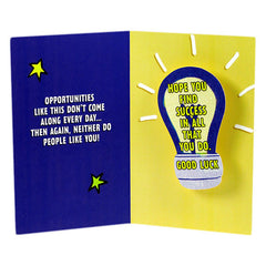Have A Bright Future Good Luck Card