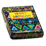 Folding Birthday Card In Box