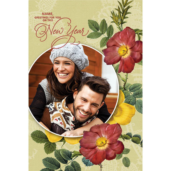 Shop new year card