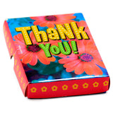 Say Thank You Folding Card In Box