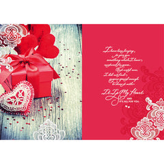 Your Love Is Only For Me Personalised Card