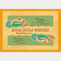 Bhai Dooj Personalised Card