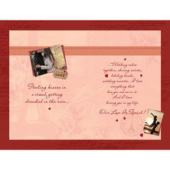 Love Personalised Greeting Card