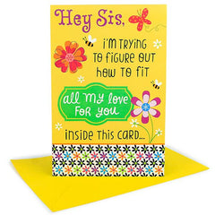 greeting cards for sister