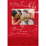 You'Re The One For Me Personalised Greeting Card