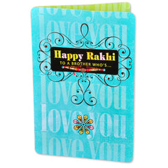 FREE RAKHI - I Love You Bhai Rakhi Greetings