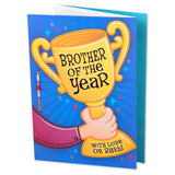 rakhi with brother of the year card