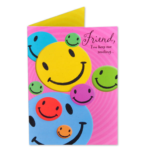 Card For Wish Keep Smiling