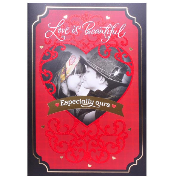 Valentine Greeting Card Sayings Love is Beautiful