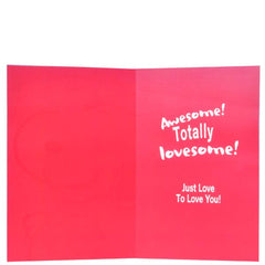 Awesome valentine's Card