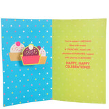 Sparkles Birthday Greeting Card