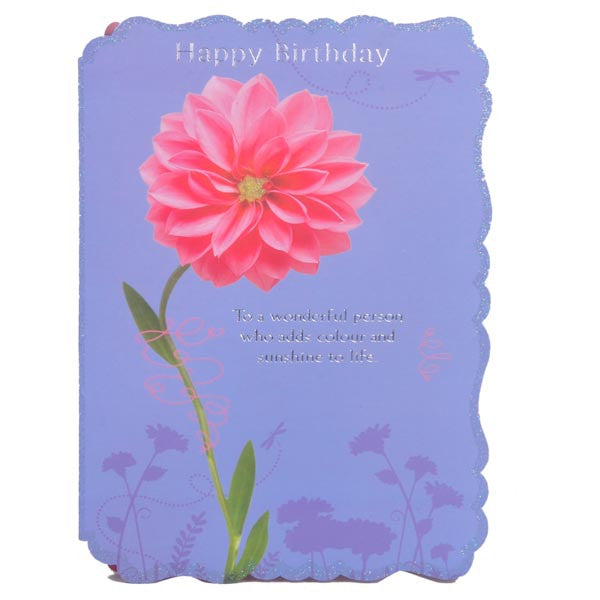 Colourful Birthday Greeting Card