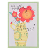 Birthday Cheers Greeting Card