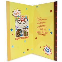 Live Up Birthday Card