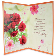 Warmth Blessings Birthday Card