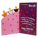 Fun And Special Joy Diwali Greeting Card