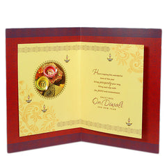 Auspicious Occasion Diwali Greeting Card