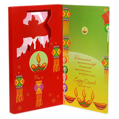 Awesome Wishes Diwali Greeting Card