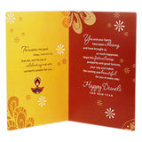On Diwali Greeting Card