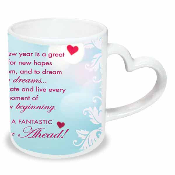 New year personalised mug