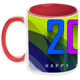 Personalised mug for new year