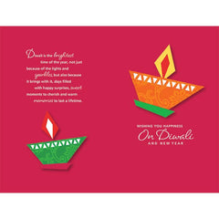 Diwali Wishes Personalised Card