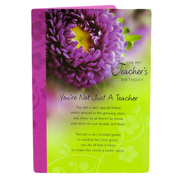 birthday card for teacher by Hallmark India
