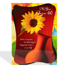 40th birthday cards by Hallmark India