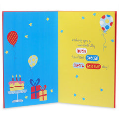 Adorable Son`S Birthday Greeting Card