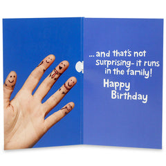 No.1 Bro Musical Birthday Card