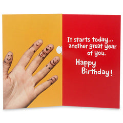 You`Re No.1 Musical Birthday Greeting Card