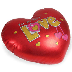 Heart Cushion For Your Love