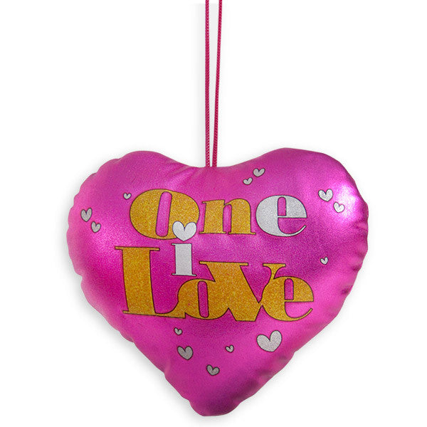 One I Love Heart cushion