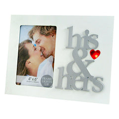 His And Hers Picture Frames