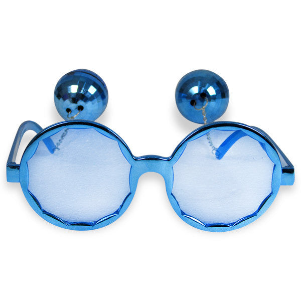 Blue Party Glasses