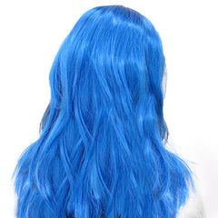 Artificial Blue Hair Wig
