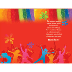 Holi Aayi Re Personalised Greeting Card
