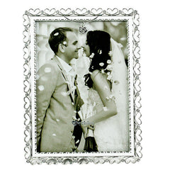 silver picture frames for valentine